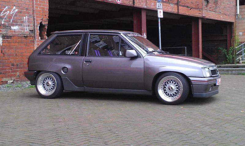 Opel Corsa A Gsi Bei Clacr Dem Classic Car Register F 252 R